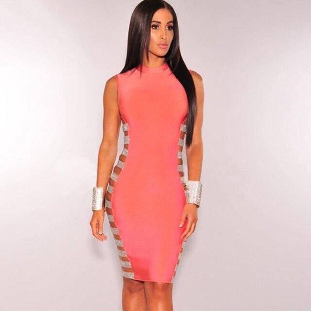 Adyce летнее элегантное женское Бандажное платье Vestidos Verano 2019 сексуальное открытое боковое Полосатое мини Клубное вечернее платье