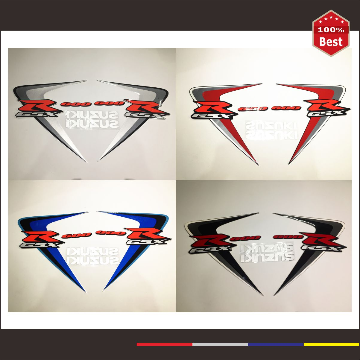 motorcycle stickers and decals DIY For Suzuki GSXR GSX-R GSX R 600 750 K6 MOTO stickers a decal stickers 4 colors to choose from k r k naidu a v ramana and r veeraraghavaiah common vetch management in rice fallow blackgram