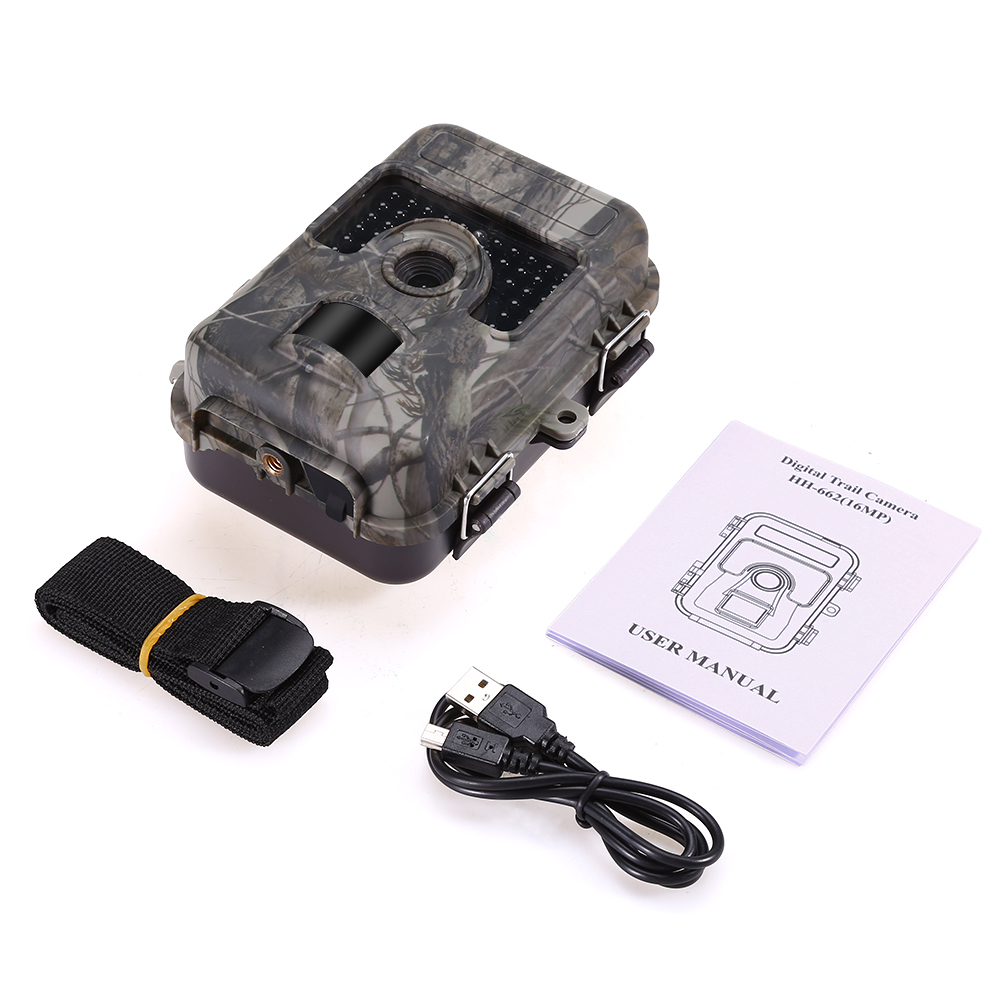 Image 5 - 1080P 16MP HD Trail Hunting Camera Farm Wlidlife Scout Infrared Night Vsion LED CAM Motion Detection IP66-in Hunting Cameras from Sports & Entertainment