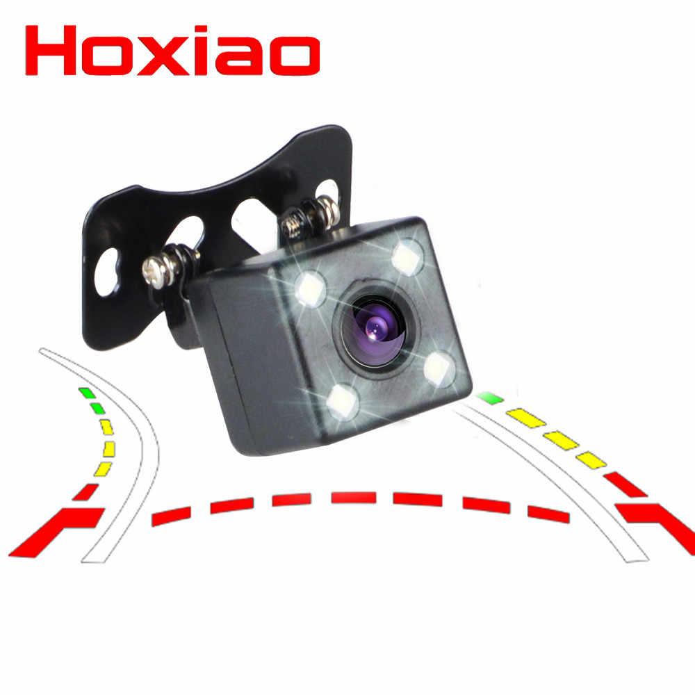 Caméra de vue arrière de voiture 4 LED Vision nocturne caméra de stationnement étanche 170 grand Angle HD Image couleur