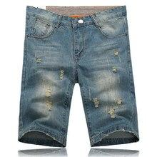 PLUS SIZE 28-34 Jeans Men Shorts 2015 Fashion Jean Trousers Jeans Men Shorts Plus Size Mens Denim Shorts