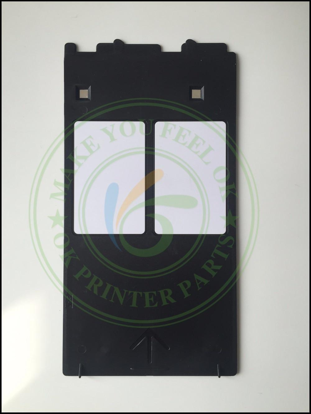 Inkjet Δίσκος κάρτας ID PVC Πλαστικός δίσκος Δίσκος PVC Δίσκος εκτύπωσης καρτών για Canon IP4600 4700 4760 4820 4850 4880 MP630 640 MG5250 8150
