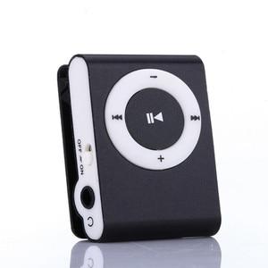 Новинка 2019, стильный зеркальный портативный mp3-плеер, мини mp3-плеер с клипсой, спортивный MP3-плеер Walkman, Прямая поставка