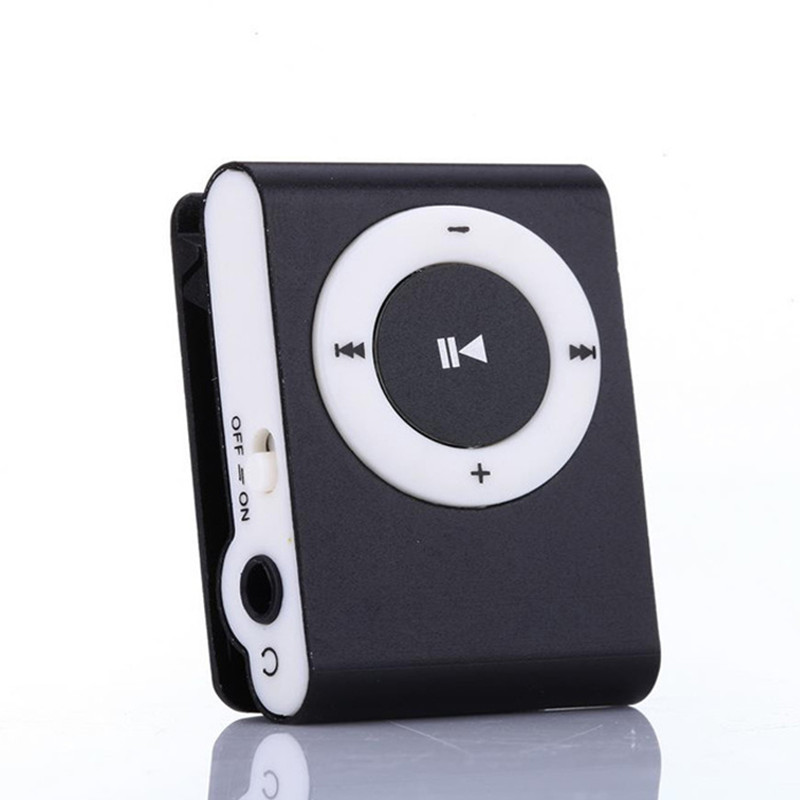 2019 New Stylish Mirror Portable MP3 Player Mini Clip MP3 Player Walkman Sport Mp3 Music Player Dropshipping image