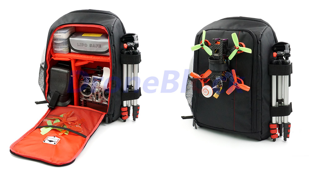 75285b1465 Dropwow FPV Racing Drone Quadcopter Backpack Carry Bag Outdoor Tool ...