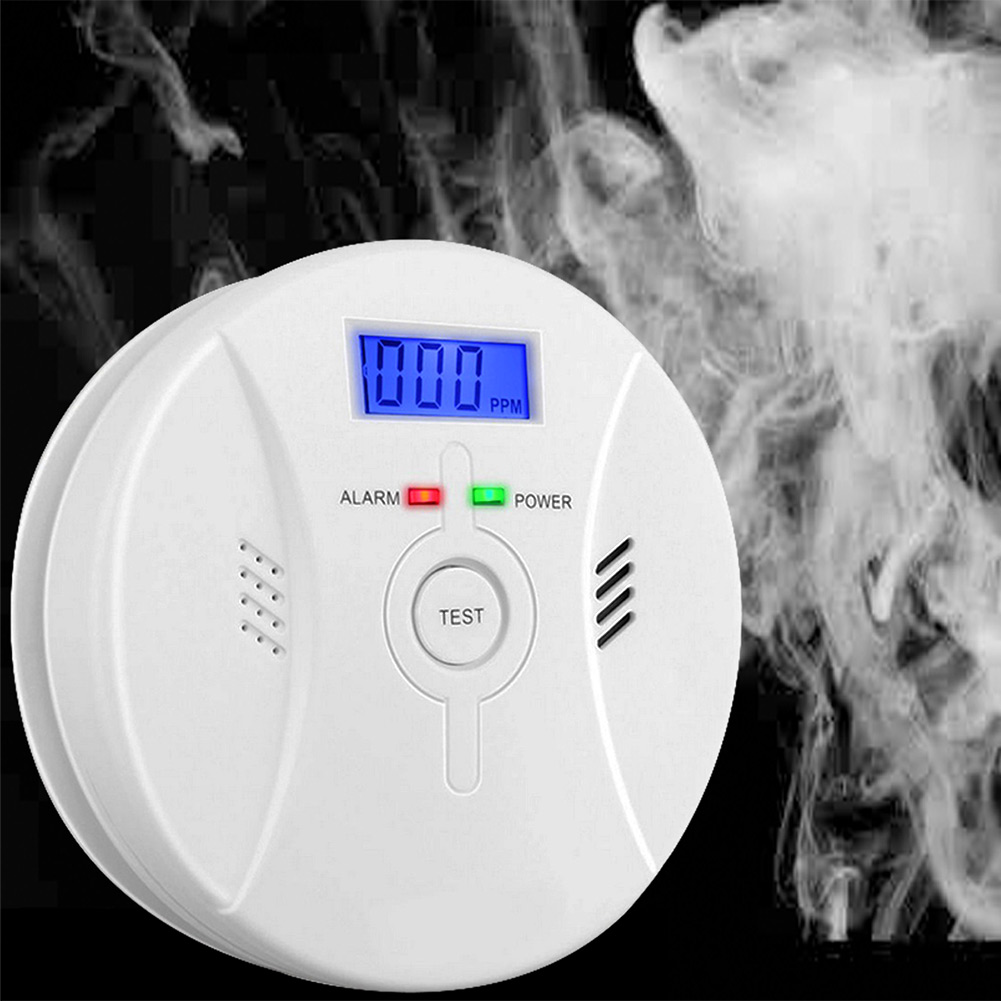 Sicherheit & Schutz Etmakit 2 In 1 Kombination Kohlenmonoxid Rauchmelder Rauch Alarm Batterie Bedienen Co & Rauchmelder Nk-shopping