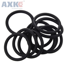 цена на AXK 200pcs Black Nitrile Rubber 1.5mm Thickness O Ring Seals 31/32/33/34/35/38/40/42/46/48mm OD  O Rings Sealing Gaskets Washers