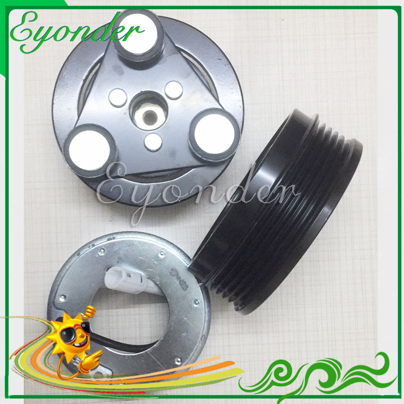 Fans & Kits Conscientious Ac A/c Air Conditoning Compressor Clutch Assembly Pulley Pv5 For Mazda 3 Axela Bk 2.0 H12a1ah4fx H12a1ah4dx H12a1aj4ex Bp4s61k00
