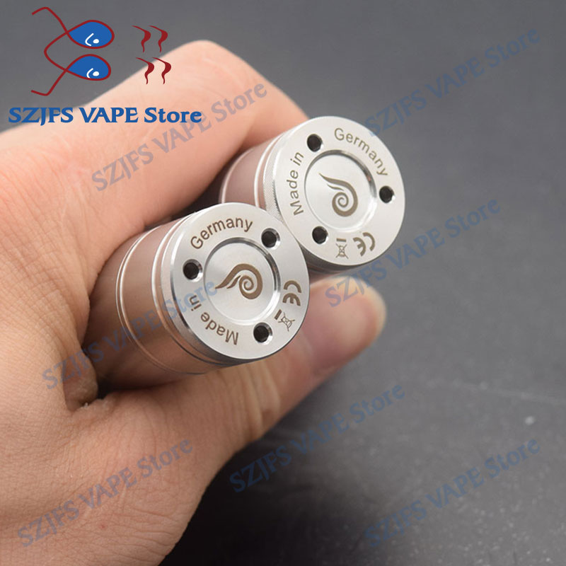 e cigarette steam giant v6 S 23mm RTA 6ML capacity 316ss adjustable low air flow single coil atomizer potill vs Taifun skarabaus in Electronic Cigarette Mods from Consumer Electronics