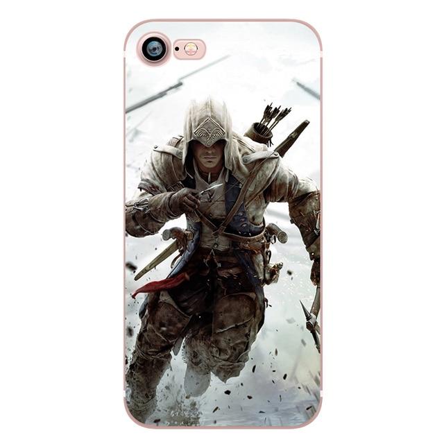 Assassins Creed Phone Case for iphone 5s 7 6s 5 se 6splus 7plus
