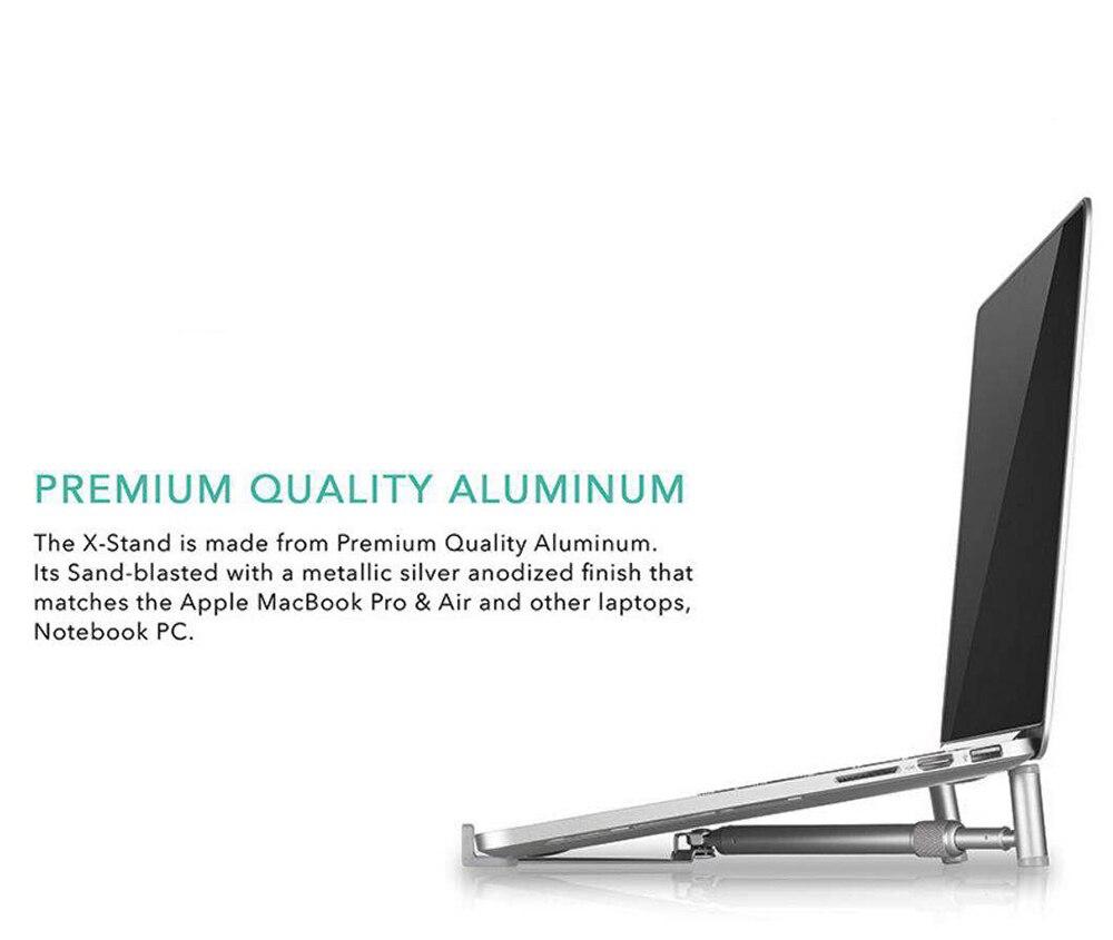 Laptop Stand Folding Portable Adjustable Laptop Stand Notebook Stand Aluminium Laptop X-Stand