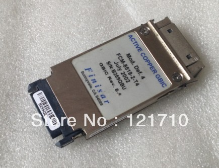 Finisar Active copper GBIC FCM-8519-2-T4 REV 5.1 5E597 Transceiver Module