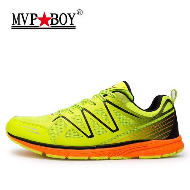 MVPBOY 2017 Men's Breathable Light Running Shoes Damping Outdoor Sport Shoes for Men Training Cushioning Sneakers Walking Shoes