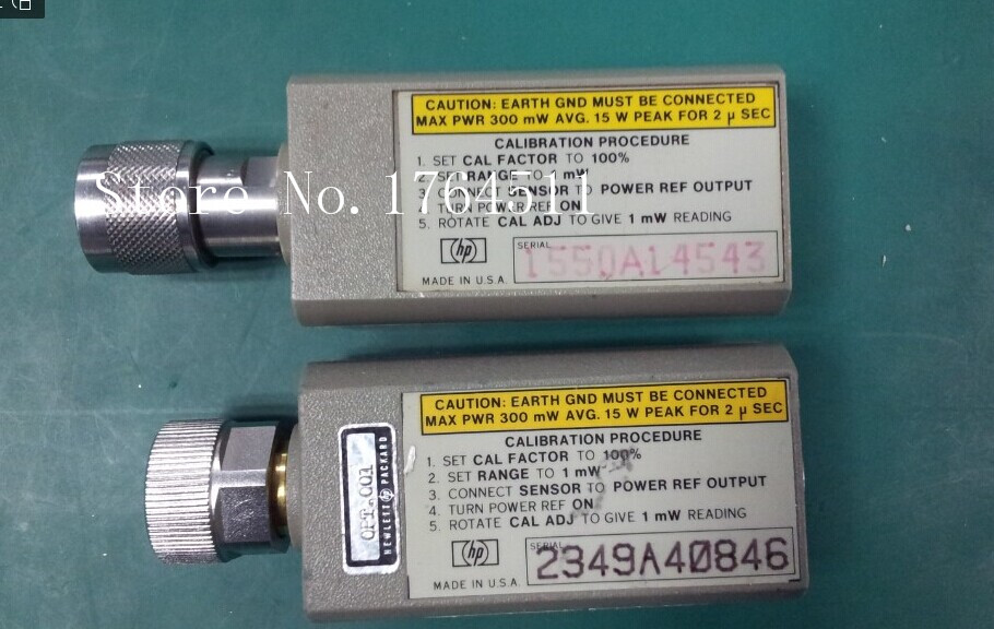 [BELLA] ORIGINAL Agilent 8481A 10M-18GHZ APC-7 Flat Joint Power Probe