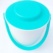 Homebrew Wine Making ice bucket 1.2L firm handl Champagne wine home brew spit wire barrel container Ktv supplie Bu
