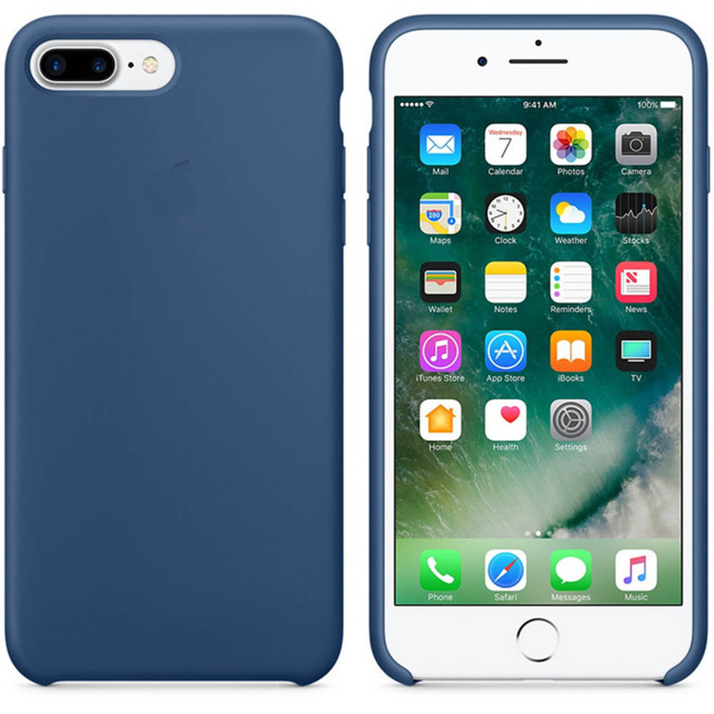 With Logo Original Copy Office Silicone Ipone For Apple Iphone X 6 S 6S 7 8 Plus 5 5S SE Coque Phone Cases Back Cover