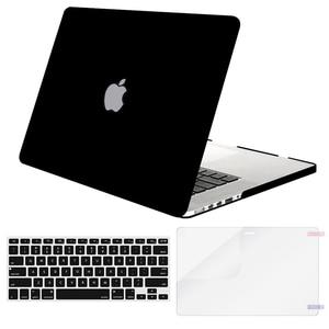 Image 3 - MOSISO 2019 מט קליפה קשה מחשב נייד מקרה עבור MacBook Pro 13 רשתית 13 15 דגם A1502 A1425 A1398 כיסוי עבור mac ספר 13.3 אינץ