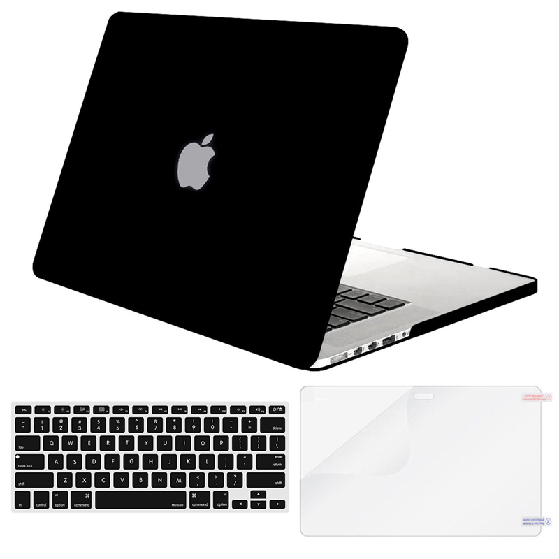 Image 3 - MOSISO 2019 Matte Hard Shell Laptop Case For MacBook Pro 13 Retina 13 15 Model A1502 A1425 A1398 Cover For Mac book 13.3 inch-in Laptop Bags & Cases from Computer & Office