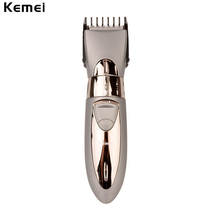 08 2 0mm adjustable kemei electric hair clipper rechargeable beard trimmer with comb hair. Black Bedroom Furniture Sets. Home Design Ideas