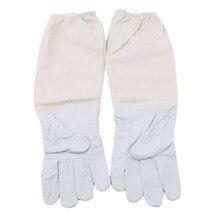 Перчатки для пчеловодов для предотвращения профессионального пчеловодства для пчеловода белые с длинными рукавами fato apcultor#10