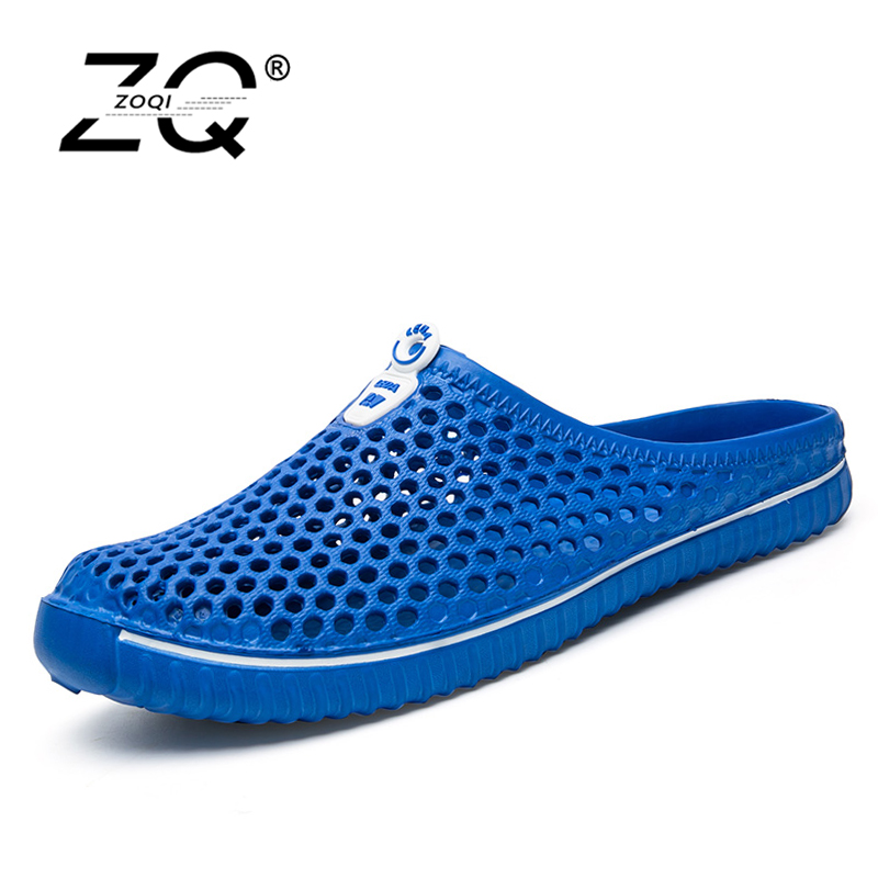 Men Summer Sandals Shoes New Hollow Out Breathable Beach Slippers Unisex Casual Slip-on Flats Flip Flops zapatos hombre sandals men fashion new brand buckle mens flip flop sandals casual slippers brown summer beach sandals men shoes breathable