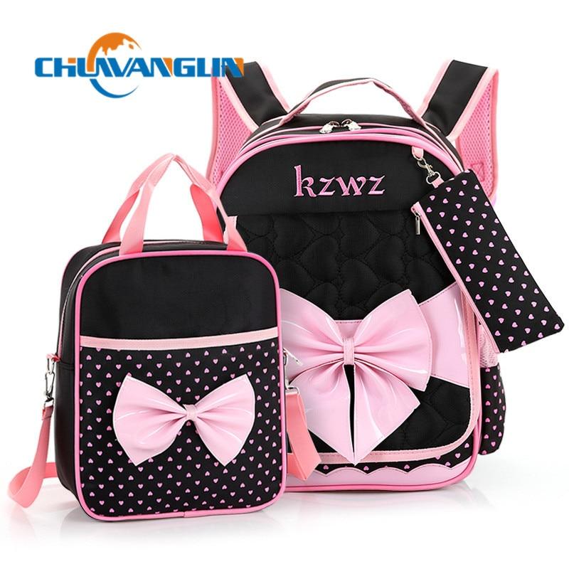 Chuwanglin Cartoon Children Backpack Schoolbags Shoulder Bags  Youth Kids Boys Girls School Bags Portfolios For Teens Zd8091