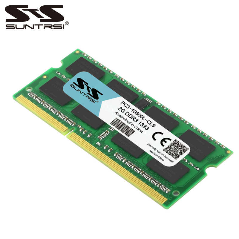 Suntrsi ddr3 2GB non-ECC ram 1333MHz or 1600MHz Original Laptop memory for Notebook