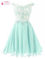 Vestido De Festa Curto Homecoming Dresses 2016 Pink Light Green Lavender Short Homecoming Dress