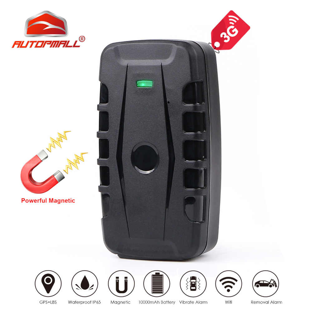 3G GPS Tracker Car GPS Locator 120 Days Standby Time Magnet Waterproof Vehicle Tracker Voice Monitor