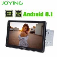 JOYING 10.1 inch Android 8.1 2 din Car Radio 4GB PX5 Octa Core GPS Navi Built in DSP support Video output Android auto stereo