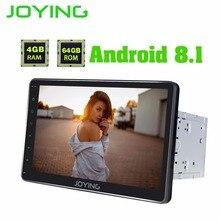 JOYING 10.1 pollici Android 8.1 2 din Auto Radio 4 GB PX5 Octa Core GPS Navi Costruito in DSP supporto uscita Video Android auto stereo
