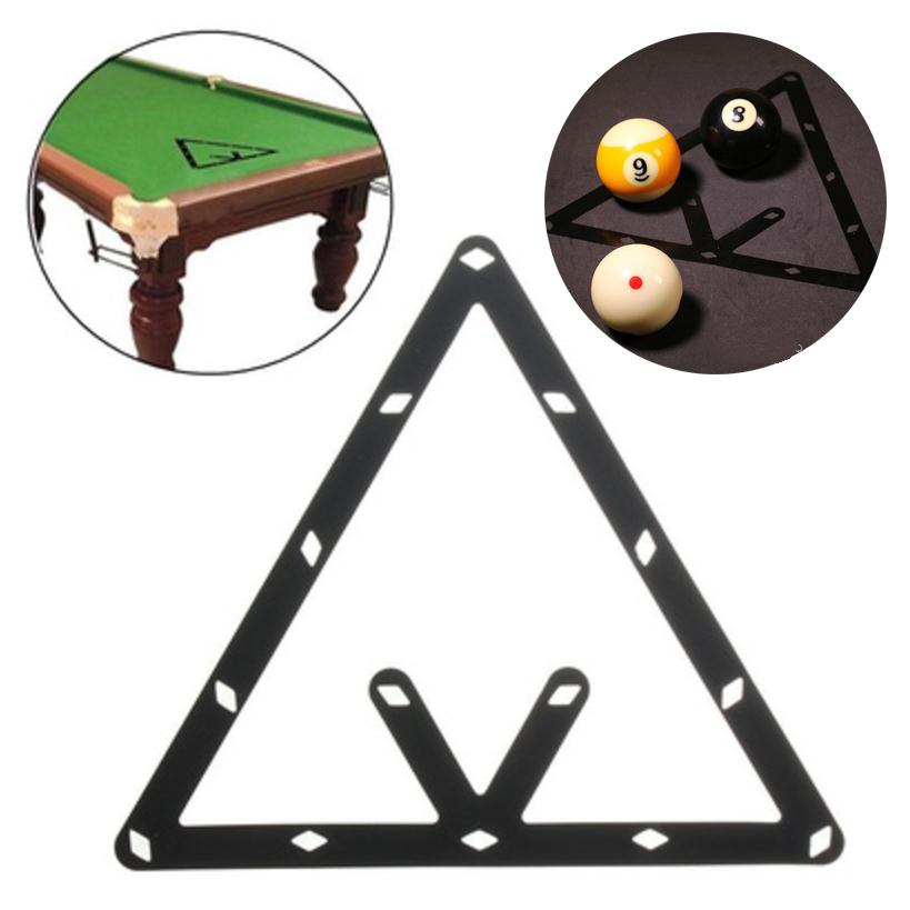 Magic Billiards Ball Positioning Table Sticker Template Pool Snooker Accessory