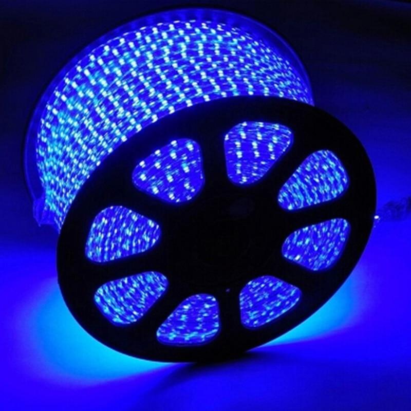 LAIMAIK SMD 5050 AC220V RGB LED led strip waterdichte flexibele bar - LED-Verlichting