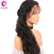 180% Density 360 Lace Frontal Wig Eva hair Pre Plucked Body Wave Brazilian Remy Human Hair Wigs With Baby Hair For Black Women