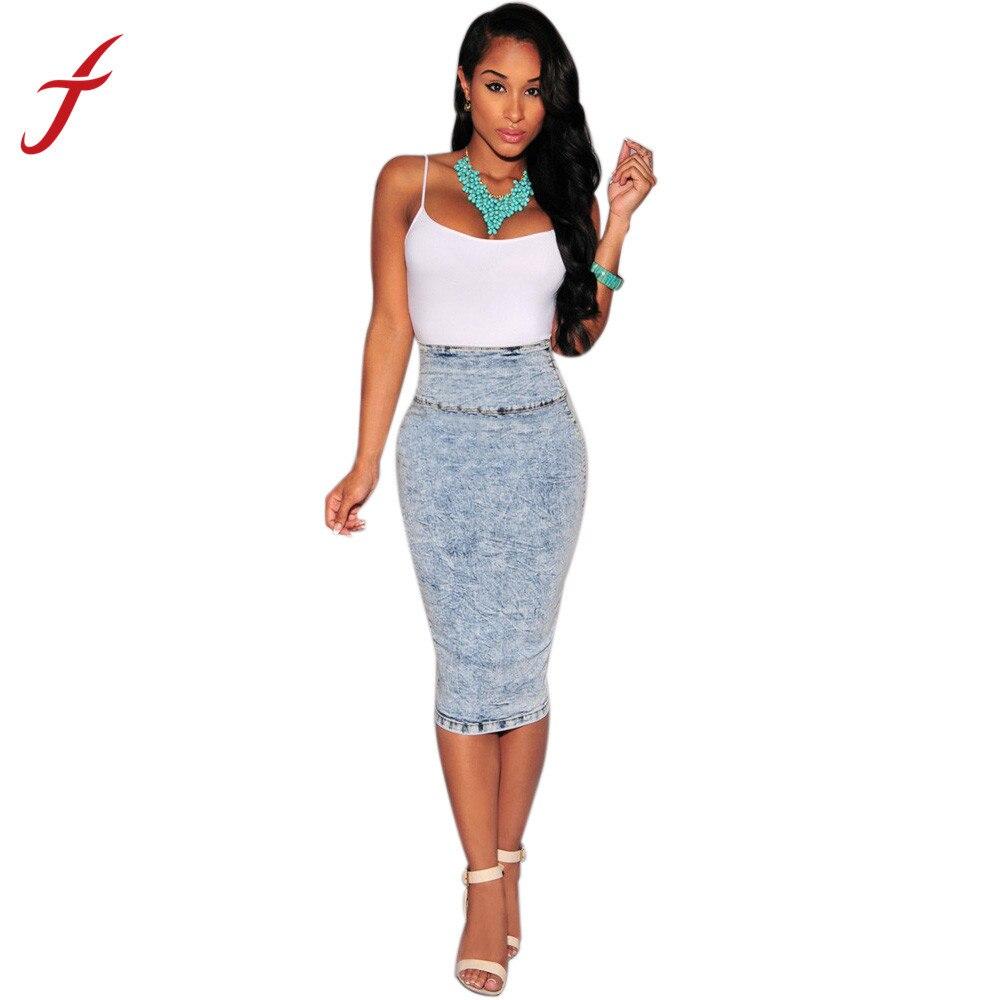 Popular Wear Denim Pencil Skirt-Buy Cheap Wear Denim Pencil Skirt lots from China Wear Denim ...