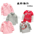 new 2014 spring autumn baby clothing kids t-shirt male female child long-sleeve t shirts baby boy / baby girl casual pullover