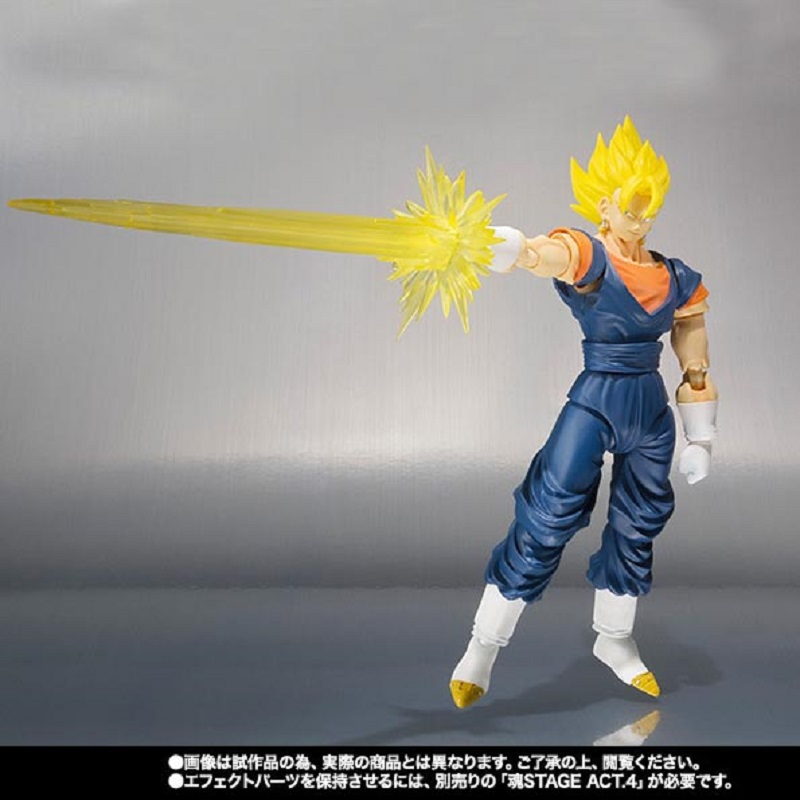 Dragon Ball Awakened Super Saiyan Son Goku VEGETA  Fuse Pvc Activity Action Figure Model Toy Display Toy Cartoon Birthday Gift dragon ball super toy son goku action figure anime super vegeta pop model doll pvc collection toys for children christmas gifts