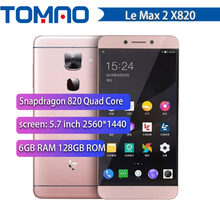 Original Letv LeEco Le Max 2 X820 FDD 4G SmartPhone Snapdragon 820 Quad Core 5.7
