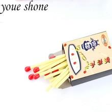 20Pcs/ box creative stationery fun match modeling mini ballpoint pen cute cartoon childrens student prize products