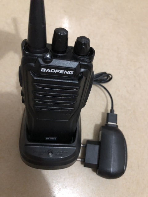 2 pièces Baofeng BF 999S radio bidirectionnelle 16CH 5W radio bidirectionnelle Portable CB Radio UHF 400 470MHz 16CH professionnel taklie walkie