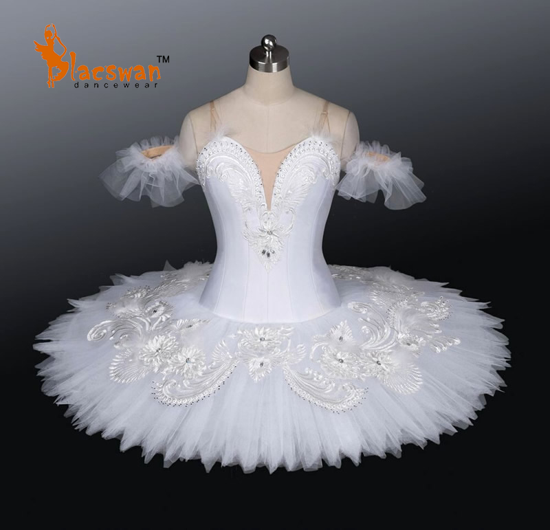 White Swan Lake Ballet Tutu Costumes BT675 Candid Professional Girl Snow Queen Fairy Tenderness - Guangzhou Blacswan Dance & Activewear Co., Ltd. store