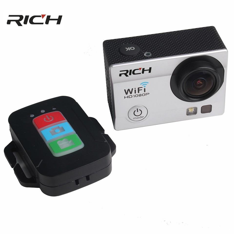 DHL SJ8000R kamery akcji Ultra HD 4 K 24fps WiFi NTK96660 2.0 cal 16MP 170D Len kask kamery wodoodporny 30 M aparat do sportów ekstremalnych