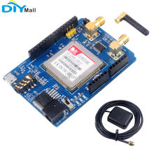 SIM5320E Development Board 3G Module GSM GPRS GPS Expansion Board Audio Connector Quad-band GSM GPS Antenna for Arduino цена