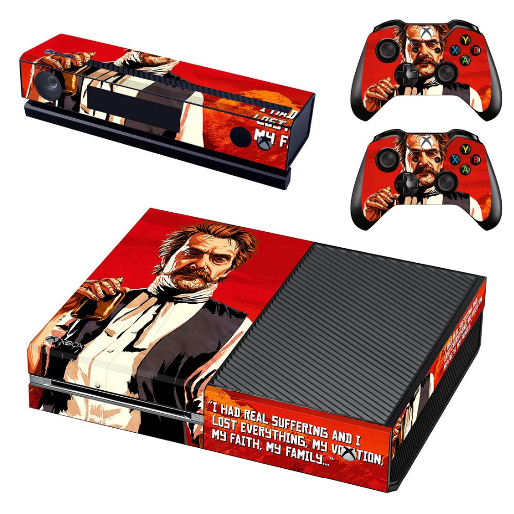US $7 86 |Skins Stickers For Xbox One Game Vinyl Skin Decals Sticker  Console Controllers Protector Cover 2018 New Arrival-in Stickers from  Consumer