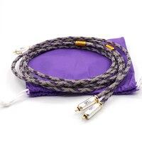 Бесплатная доставка пара аудио кабель XLO Подпись S3 1 singled закончен аудио Межблочный кабель rca