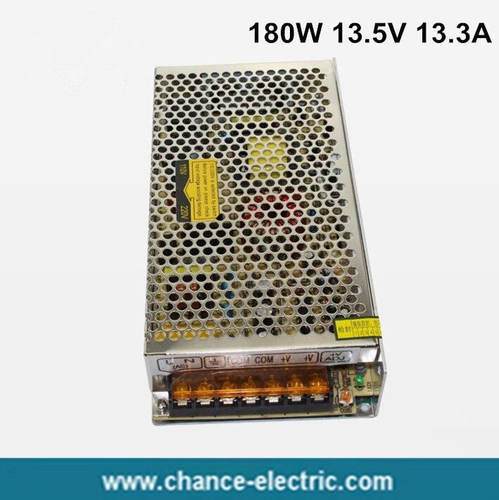 13.5V power supply 180w 110-220vac to DC 13.5v 13.3A POWER SUPPLY for LED Strip light (S-180W-13.5v) optiplex gx260 gx240 gx270 power supply 180w 01n405 1n405 cn 01n405 forhp u1806f3 working