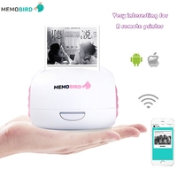 MEMOBIRD WIFI Printer Thermal Printer Photo Ticket Printer Pink