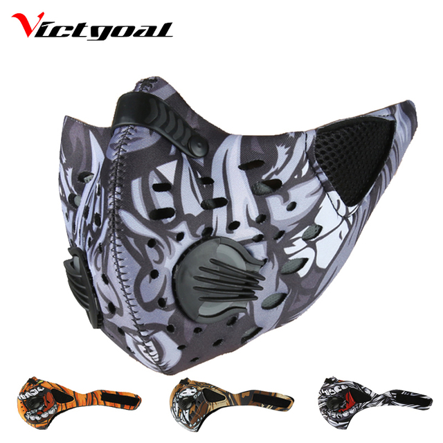 VICTGOAL Windproof Sports Cycling Winter Mask Sports Women Men Mouth-Muffle Face Mask Running Skiing Masks Bicycle Mask Winter