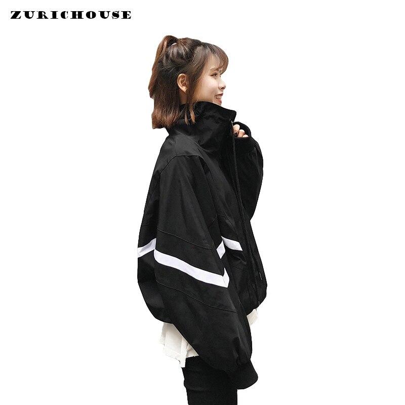 Womens Bomber   Jacket   Fall Long Sleeve   Basic   Baseball Coat Female   Jacket   2019 Casual Windbreaker   Jackets   For Women Chamarra Mujer