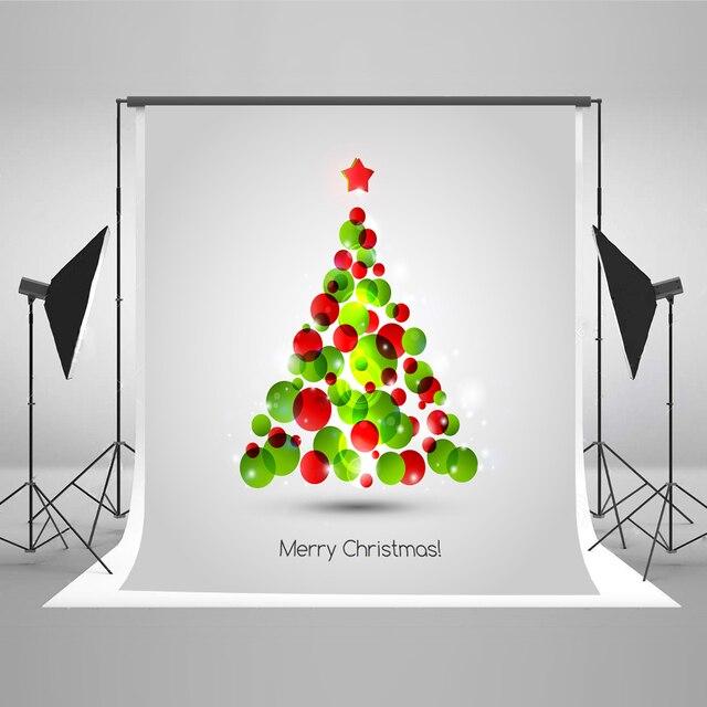 kate christmas backdrops green red christmas tree photo booth backdrop bokeh x mas backgrounds for